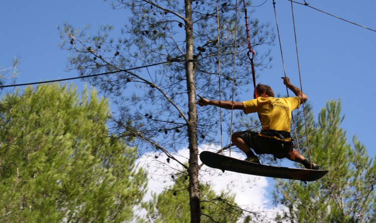 Inyección de adrenalina en JUNGLE PARC